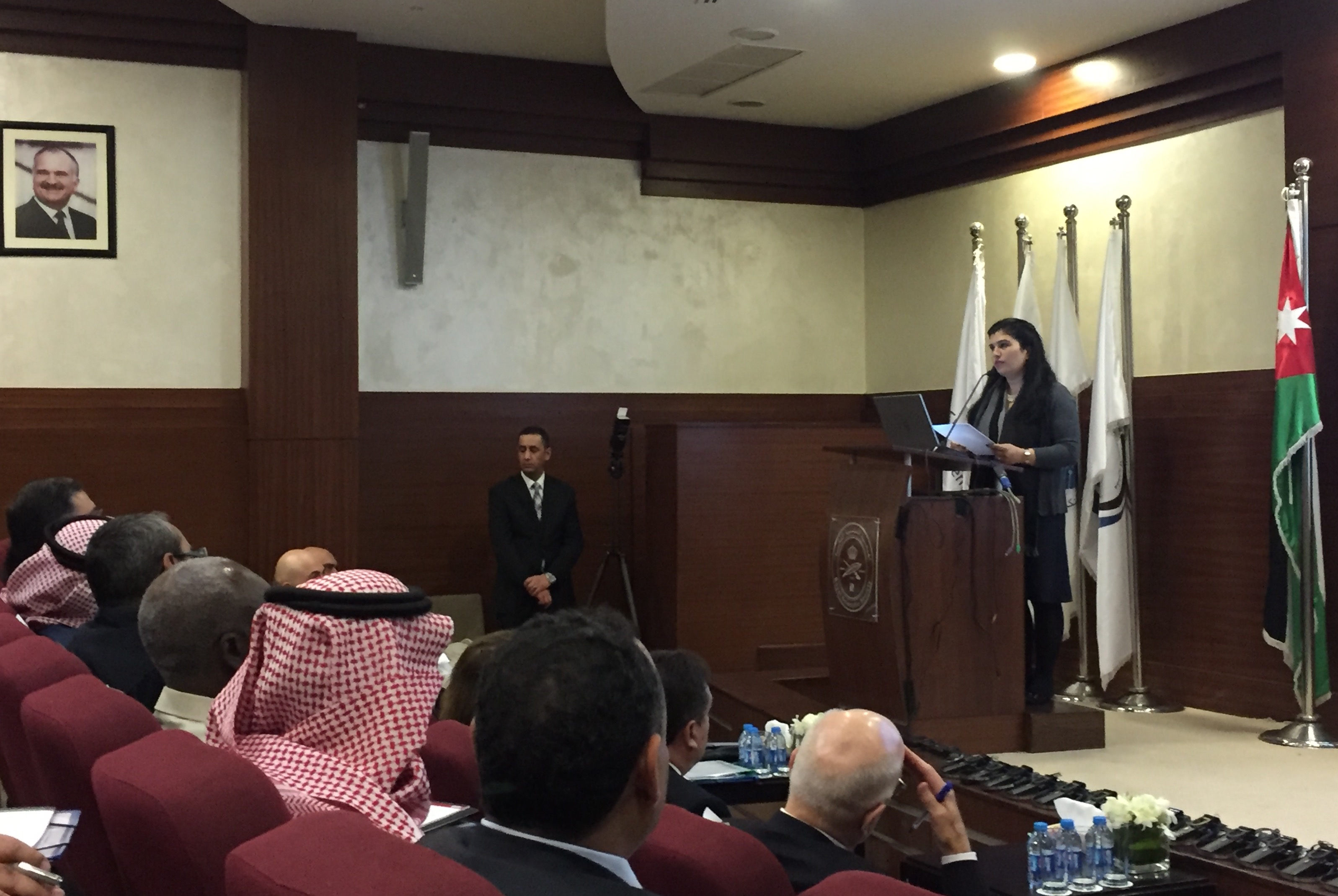 HRH Princess Sumaya Of Jordan At The Regional Forum On Scientific Diplomacy